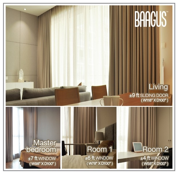 latest curtain designs for home. New Curtains  Sheers and Tracks for your new home only RM2 888 Blinds Wallpaper Premium Curtain Design BAAGUS